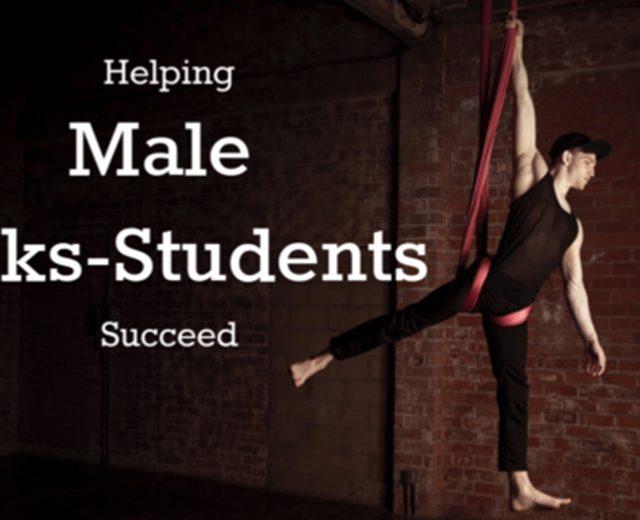 HelpingMaleSilksStudentsSucceed