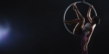 lyra aerial hoop